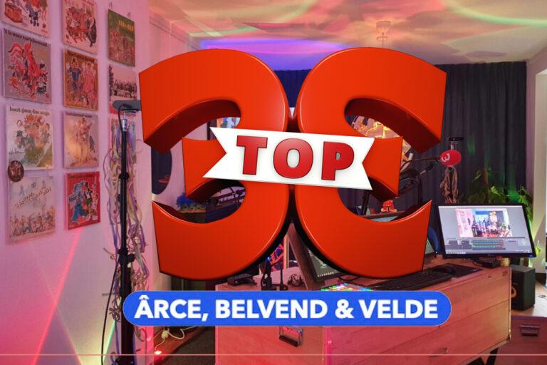 Liedjes Top 3×11 bekind Ârce, Belvend & Velde