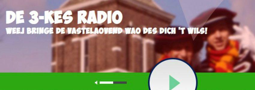 Kom in de stumming mit De 3-kes Radio